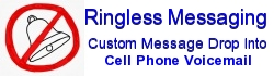 Outbound Ringless Cell Phone Voice Broadcasting