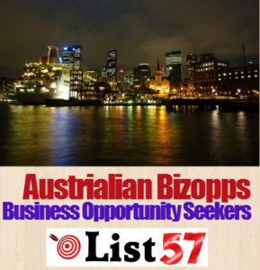Austrialian Bizopps Business Opportunity Seekers List57