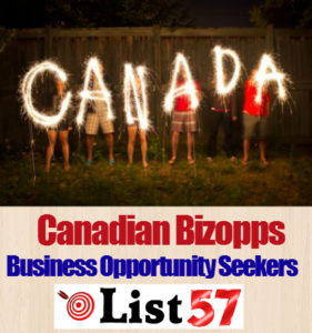 Canadian Bizopps Business Opportunity Seekers List57