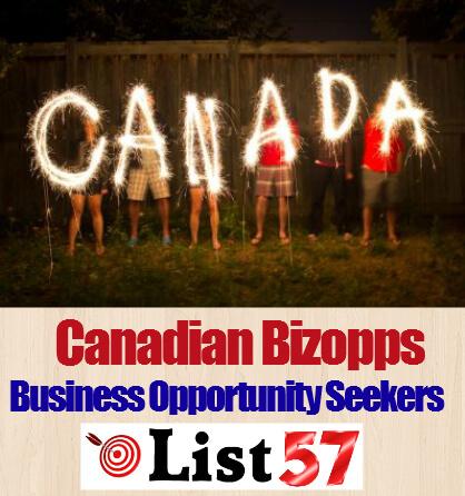 Canadian Bizopps Business Opportunity Seekers List57