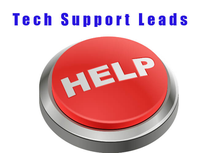 Tech Support Leads Fresh Real Time List57.com